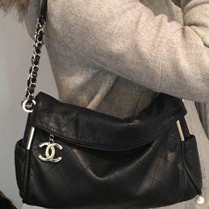 Chanel Black Lambskin Handbag